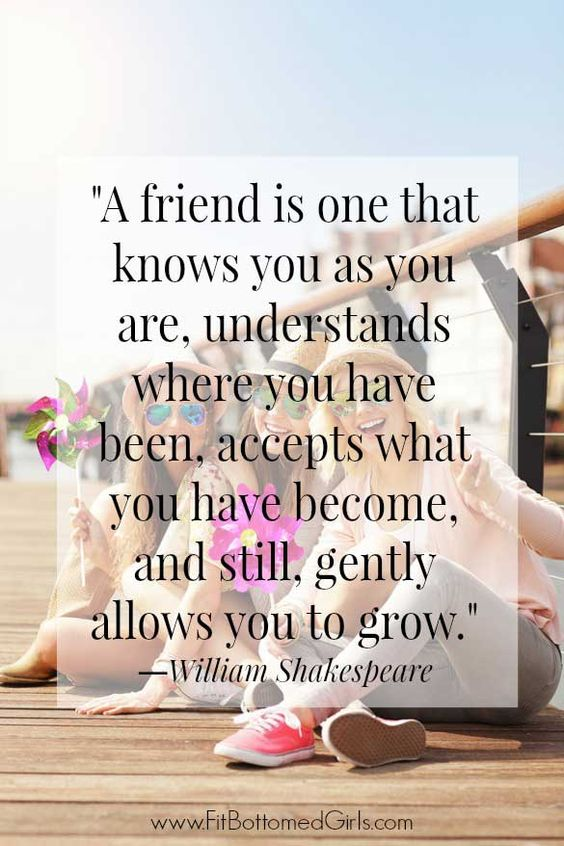 As part of BFF week at Fit Bottomed Girls, Erika has put together the top 10 best friend quotes (with some cute memes for you to share!).: