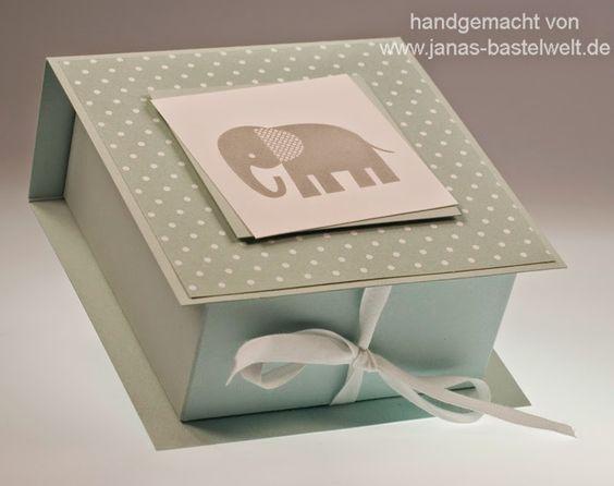 Janas Bastelwelt - Unabhängige Stampin' Up! Demonstratorin: Video-Tutorial: Flip-Top-Box