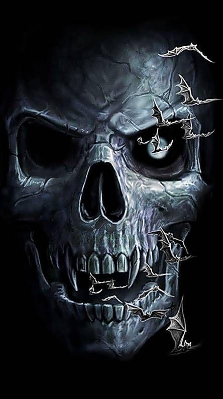Pin On Skull Art Cool 3d skull wallpaper images