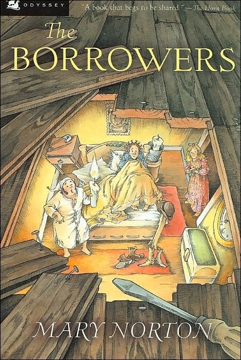 The Borrowers, by Mary Norton (38 Perfect Books To Read Aloud With Kids).  It's a delightful book!!