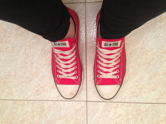 My old arse converses!