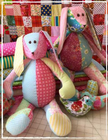 Memory Bunny – The Patchwork Bear