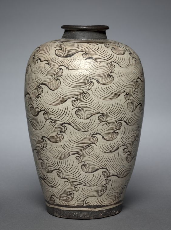 Vase (Meiping) with Waves | Cleveland Museum of Art