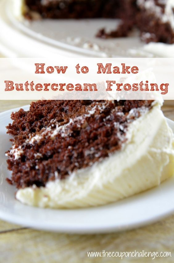 How to Make Buttercream Frosting.  Fast and oh so good buttercream frosting.  This is a great recipe to spruce up a boxed cake or cupcakes.