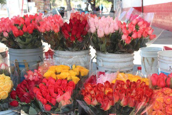 Mercado de las flores - Mezquitán.