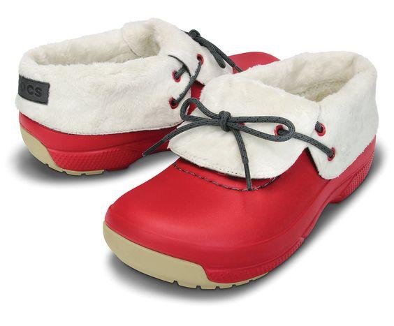 Blitzen Convertible Warm Winter Clogs from Crocs  #giftideas