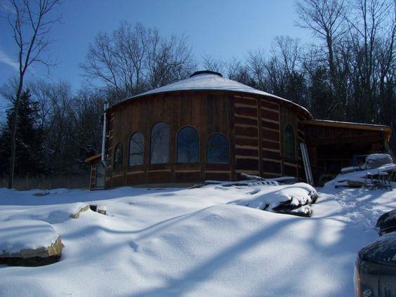 Wooden Yurt: