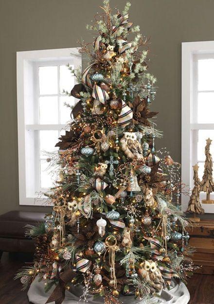 Christmas tree themes, Christmas trees and Rustic on Pinterest