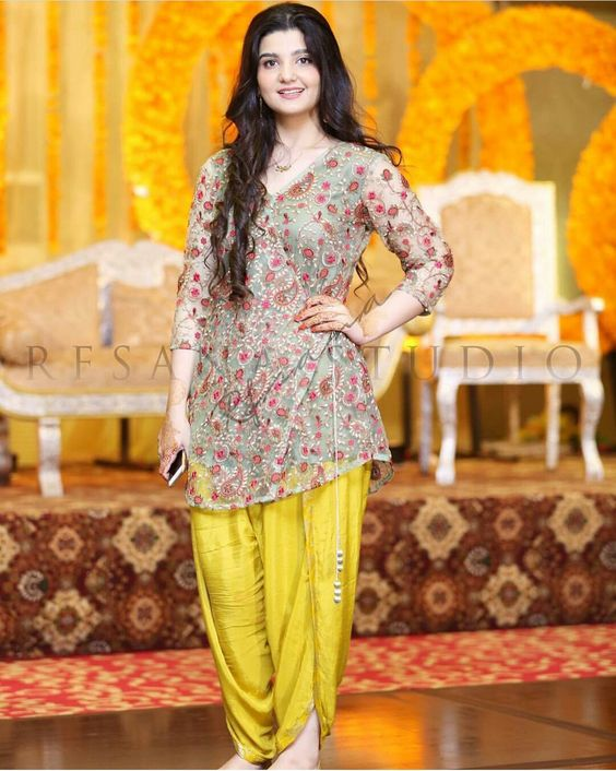 Indian Party Wear Shalwar Kameez Floral Outfit