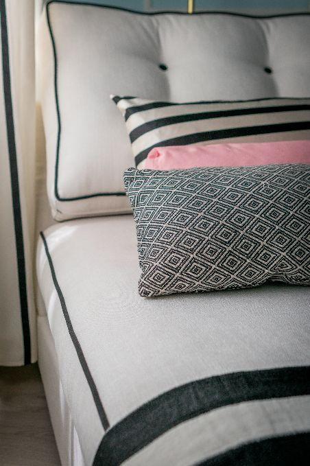 Têxteis   Textiles   Almofadas   Cushions   Pillows   Pink   Stripes