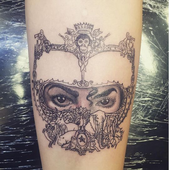 Micheal Jacksons daughter Paris honours him with this new tattoo