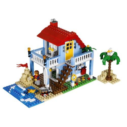 Lego Beach House Walmart: Casa En La Playa Creator Lego 415 Piezas Para La Diversión
