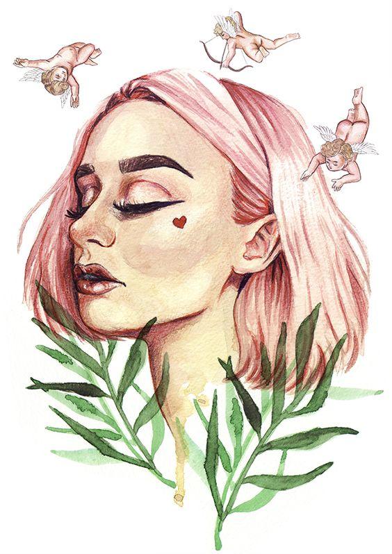 San Valentín 2018 - ilustración de Markos Artify
