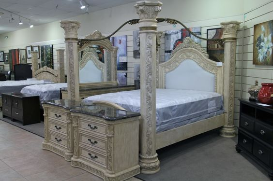 Las Vegas Canopy Bedroom Sets And King On Pinterest