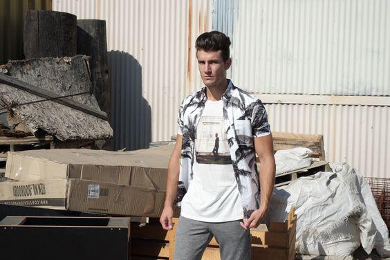 Derrick (Limited edition 100% organic cotton t-shirt)