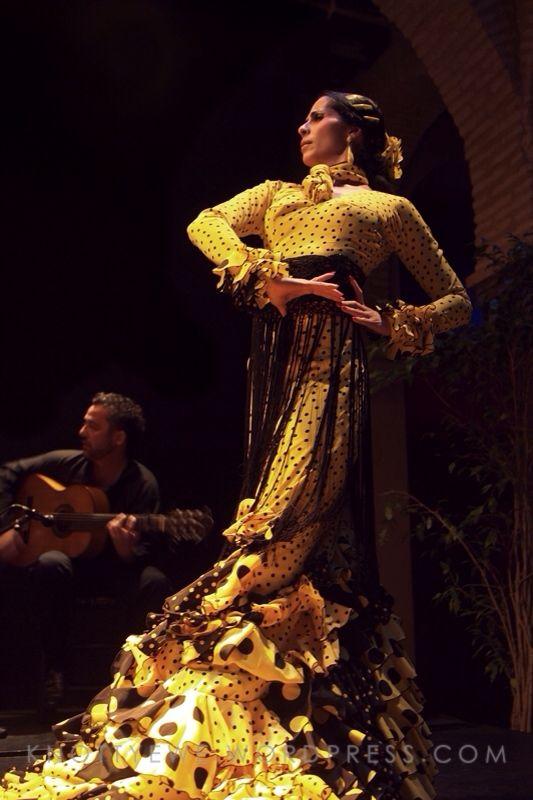 Flamenco dancer at the Museo del Baile Flamenco
