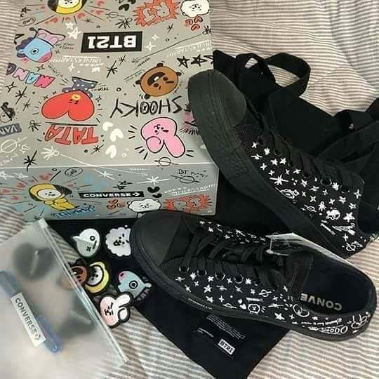 Official BT21 X Converse Chuck Tylor All Star. DON`T ASK