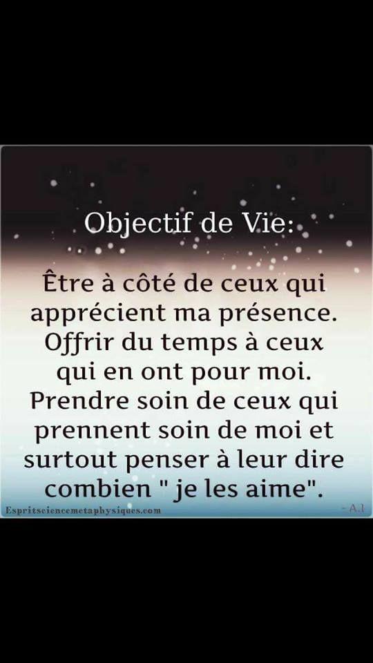 Objectif De Vie Dictons Et Citations Citation Et