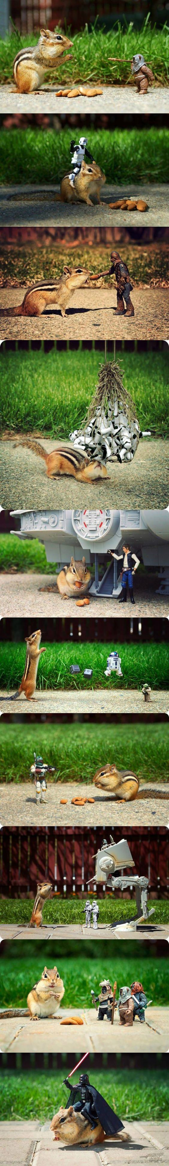 More Star Wars figures in action :-)