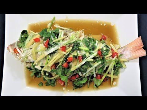 Cara Membuat Steam Ikan Ala Chinese Cantonese Cuisine Steamed Fish Youtube Masakan Resep Ikan Resep