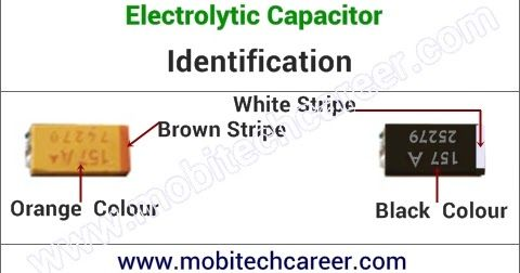 Electrolytic Capacitor Identification In Hindi Electrolytic Capacitor Capacitors Pcb Circuit Board