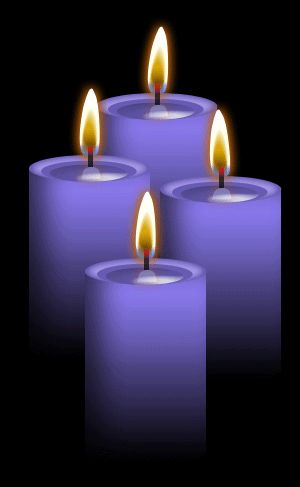 CANDLE MAGIC ✯ 4 Violet Candles: Use for Strength, Success, Idealism, psychic revelation; Ideal for rituals which are designed to secure Ambition, Independence and financial success or to establish contact with the other, spiritual world; Enhances Neptune energy .. By ~Blood-Huntress✯