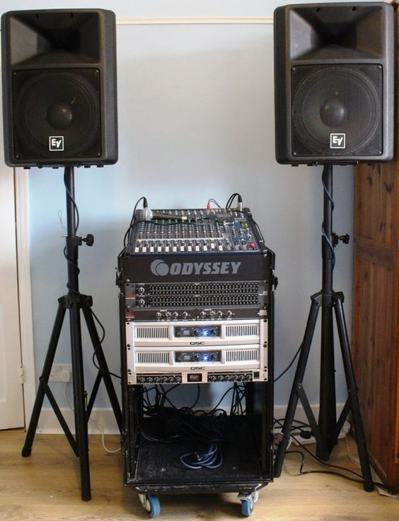 How To Setup Pa System For Band Live Events Conference Meeting Rooms Pa System Sound System Speakers Live Sound System