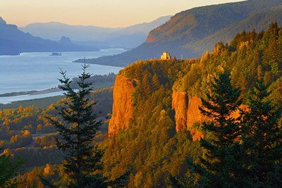 Crown Point, Columbia River Gorge