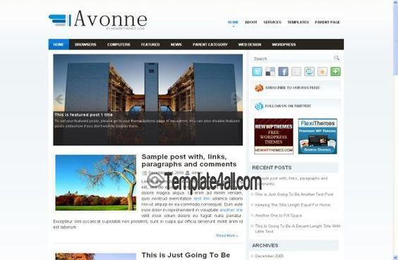 Pro Business Wordpress Template - Wordpress Themes #wordpress #business #wordpressthemes
