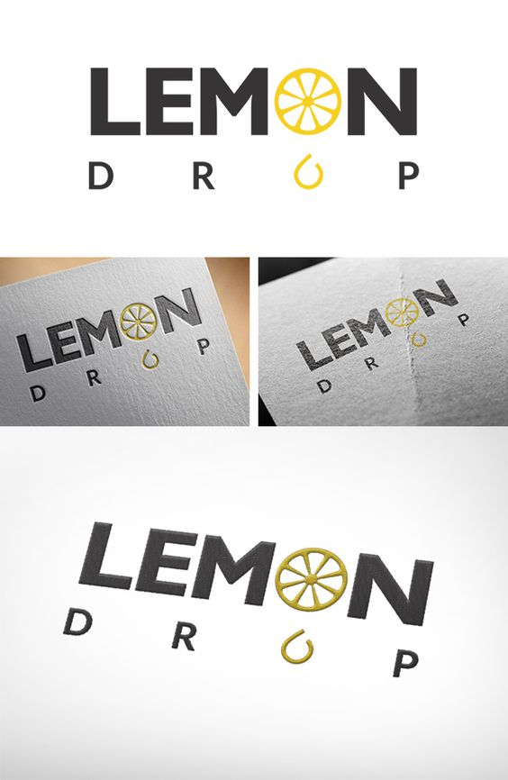 Branding, logo, graphic design, visual identity, visual communication, Lemon Drop
