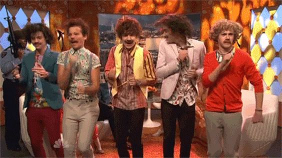 One Direction + Amy Adams + Saturday Night Live = Best video ever!