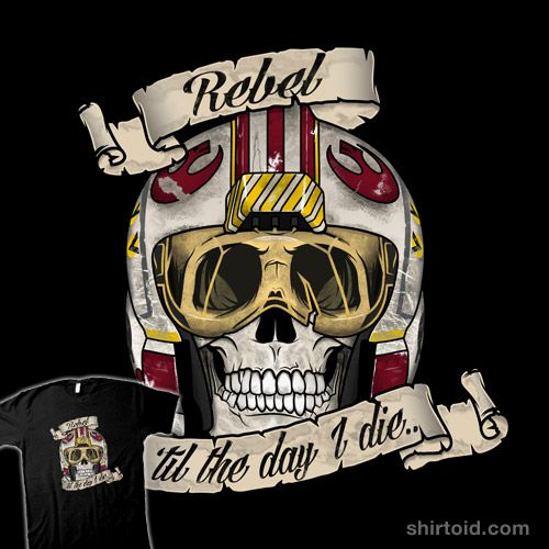 Rebel til the End by RebelArt is available at Redbubble