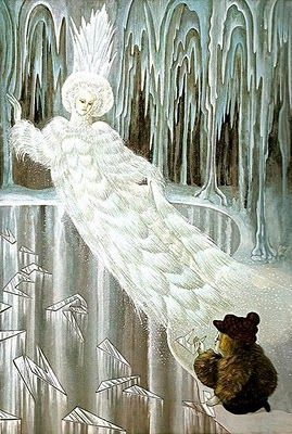 The Snow Queen Illustrated by Errol Le Cain