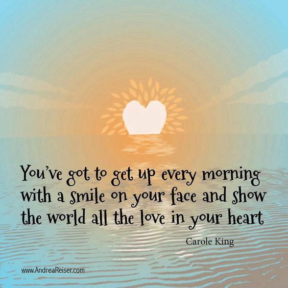 get up every morning with a smile @rachael1208  @harsberg