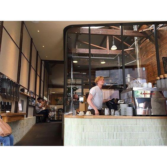 todaemi清澄白河さんぽ #allpressespresso#coffee#japan#tokyo#interior #清澄白河#サードウェーブコーヒー