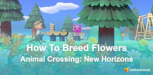 Animal Crossing New Horizons Flower Breeding Guide List Of Flowers Animal Crossing List Of Flowers White And Pink Roses