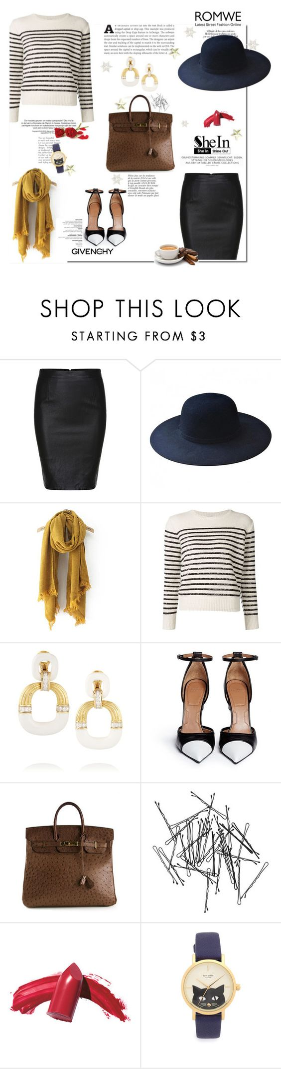 """Estamos vivos e isto é tudo É sobretudo a lei Dessa infinita highway"" by railda-pereira ❤ liked on Polyvore featuring Urban Outfitters, Yves Saint Laurent, David Webb, Givenchy, Hermès, Anja, Monki, Elizabeth Arden, Kate Spade and women's clothing"