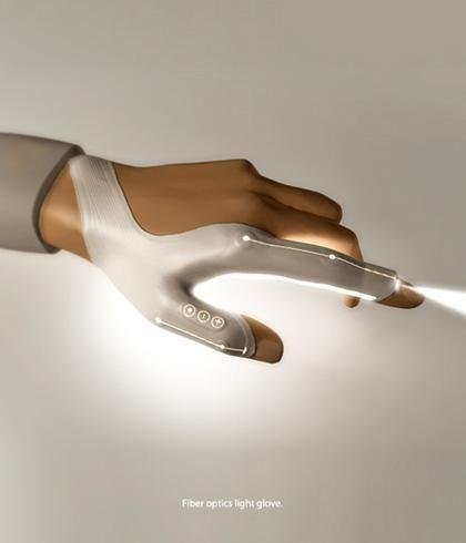 Concept De Gant Lampe Torche Led Paperblog En 2020 Lampe Torche Led Technologie Portable Gadgets Haute Technologie