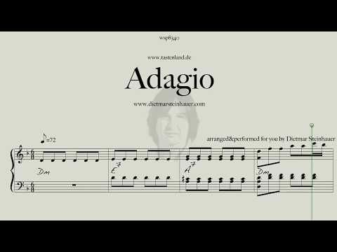 Adagio My Version Of The Adagio By J S Bach Marcello Youtube