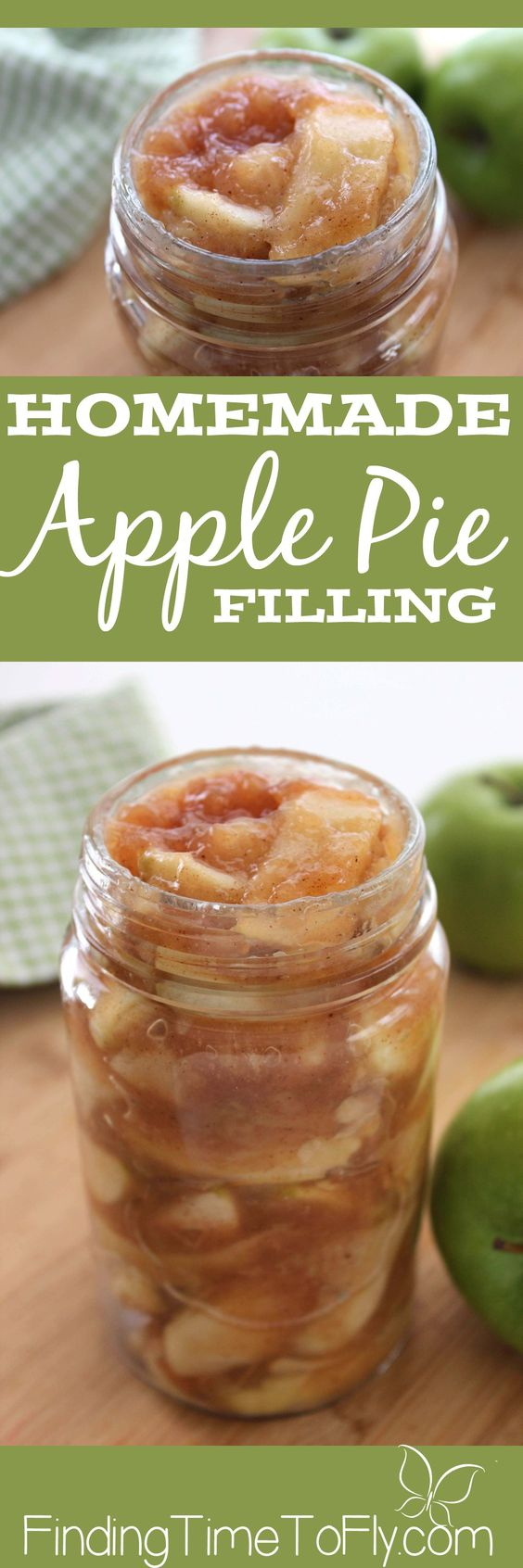 I never thought of making Homemade Apple Pie filling ahead of time before. What…