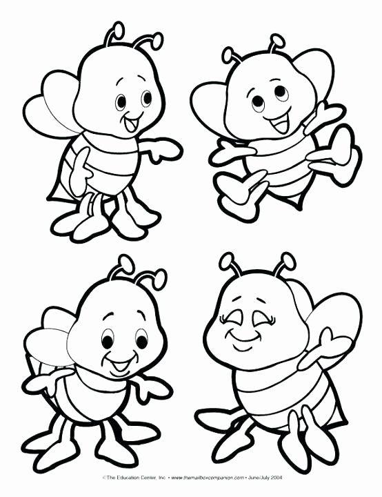 Honey Bee Coloring Page Unique Honey Bee Coloring Pages At Getcolorings Bee Coloring Pages Coloring Pages Coloring Books