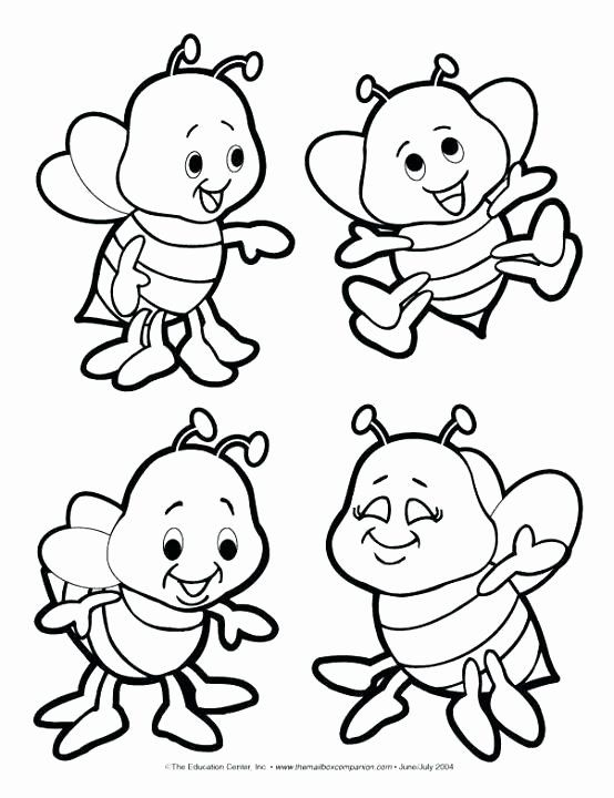 Honey Bee Coloring Page Unique Honey Bee Coloring Pages At
