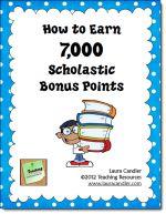 Scholastic Bonus Point Deal