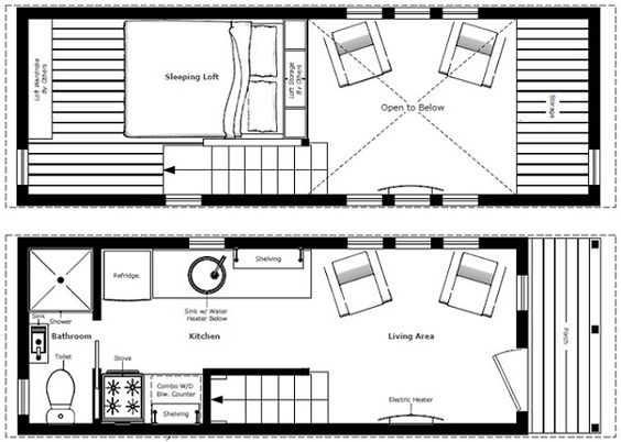 Humble Homes Tiny House Plans wow I think this is a great one