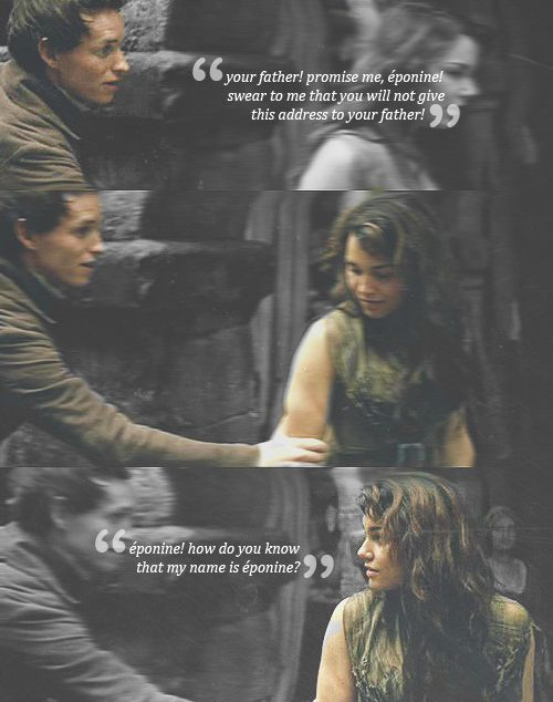 'That's nice! You have called me Eponine!'