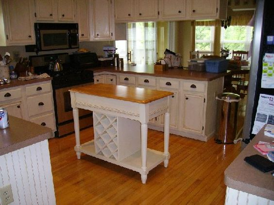 Pinterest the world s catalog of ideas for Chocolate brown painted kitchen cabinets