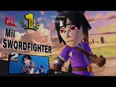 Naruto Mii Fighter Sasuke Joins The Battle Online Smash Bros Ultimate Youtube Smash Bros Fighter Sasuke
