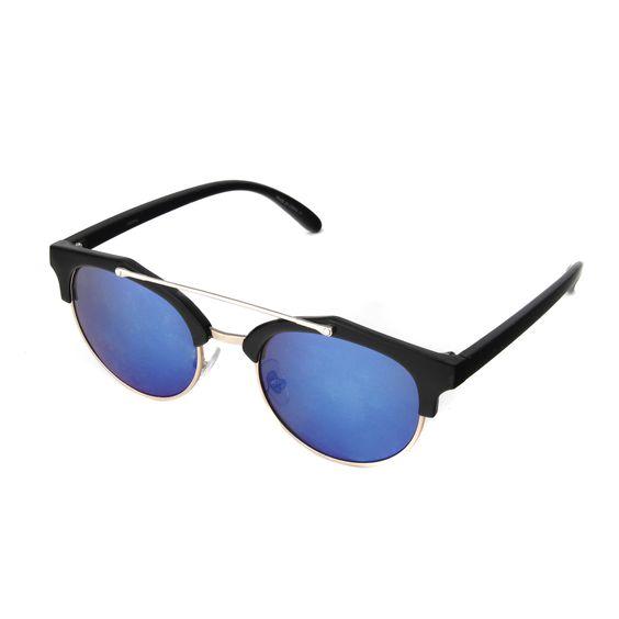 Hot Optix Women's Round Fashion Sunglasses With Browbar