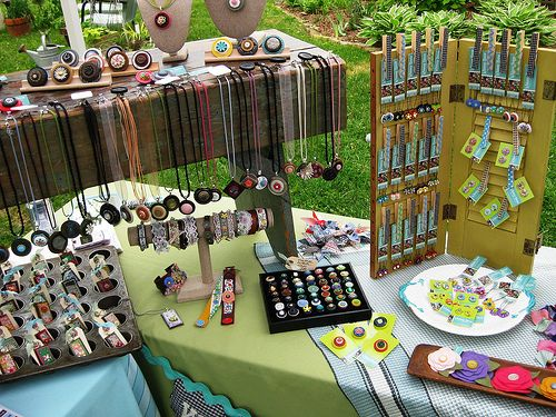 Whimsy House Outside Booth Display by Whimsy House, via Flickr