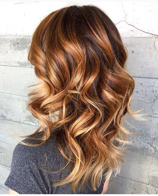 теплый цвет волос